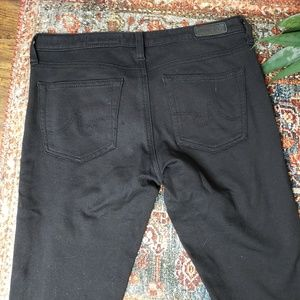 Ag Adriano Goldschmied Jeans - AG The Legging Super Skinny Fit in Black